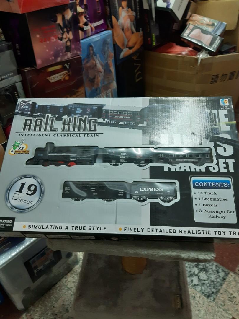 rail king 火車玩具