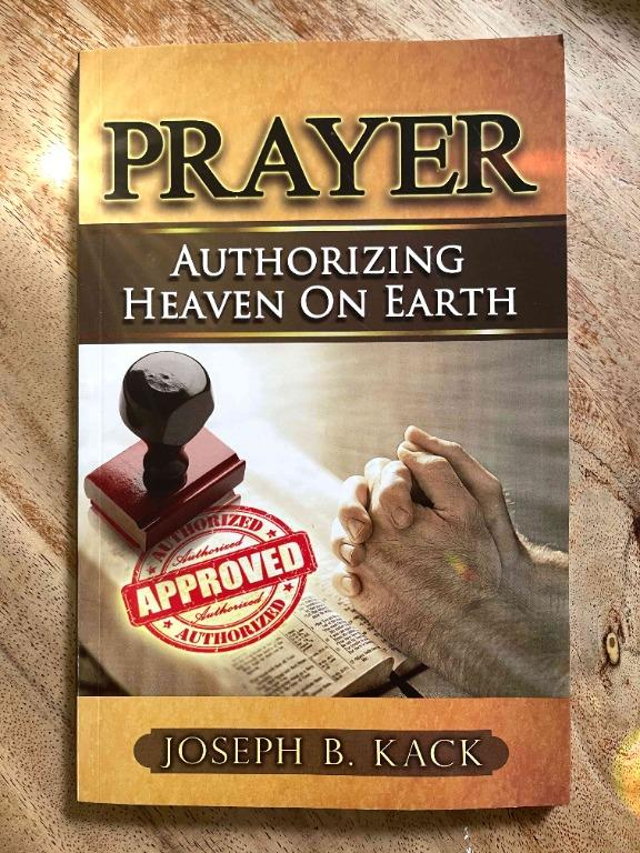 Religious book - Prayer authorizing heaven on eart