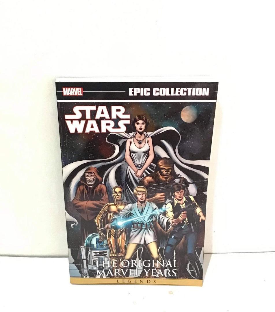 Star Wars The Original Marvel Years Legends TPB (starwars comics)