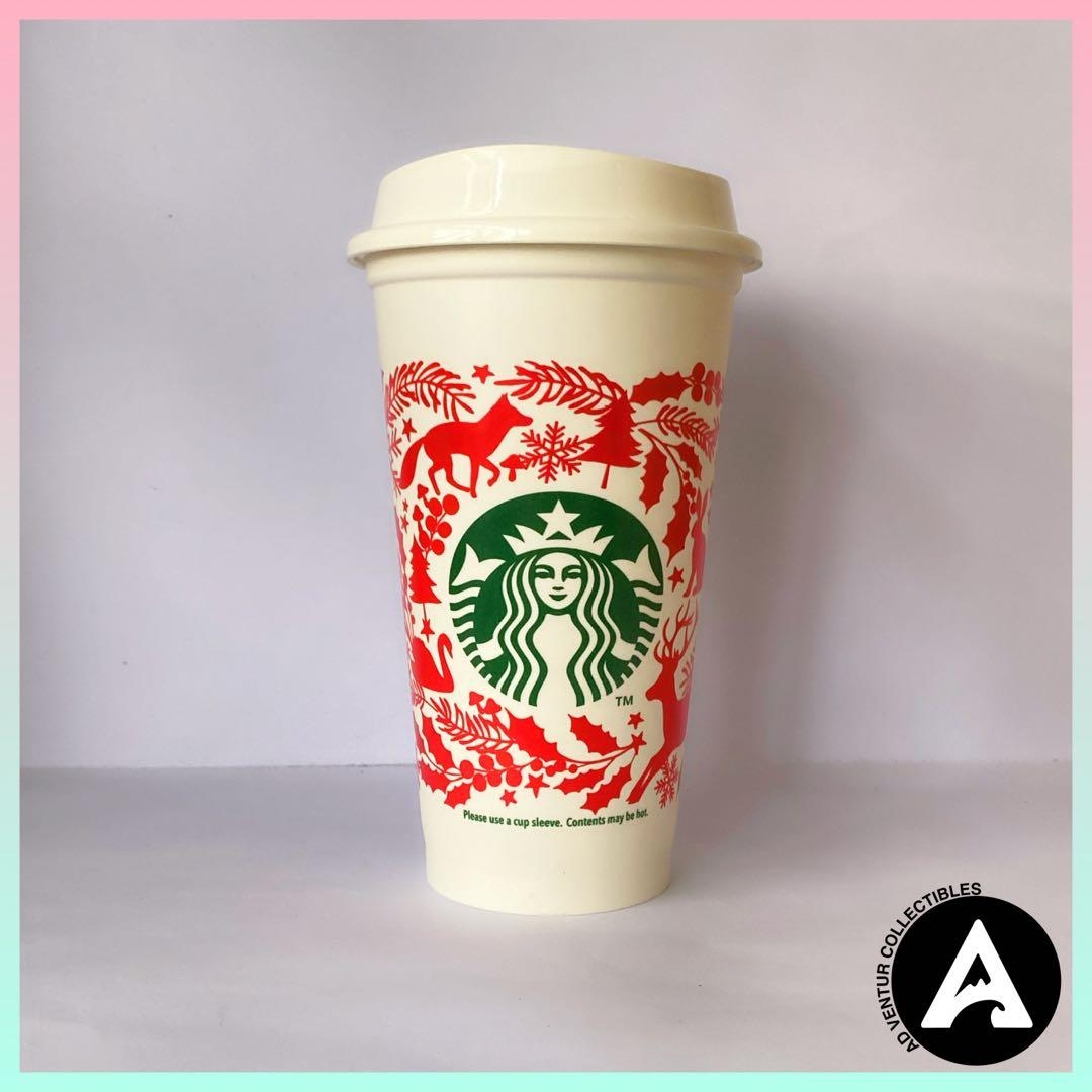 Starbucks Holiday 2018 Taiwan Released Reusable Cup