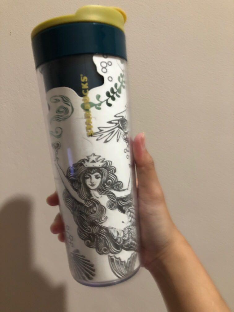 Starbucks Tumbler mermaid