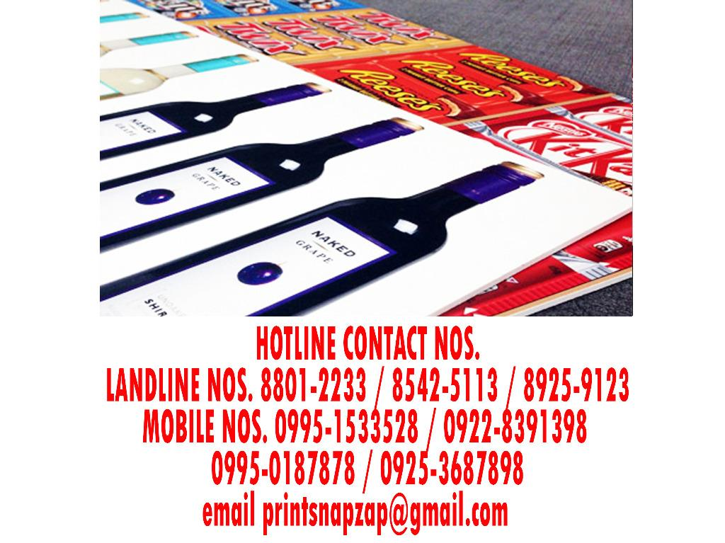 Sticker Print on Cintra Board Sticker Print on Xintra Board Sticker Print on Sintra Board