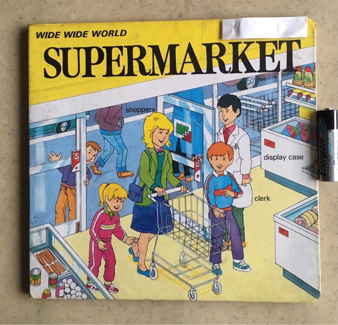 Supermarket -  Board Book - PreLoved