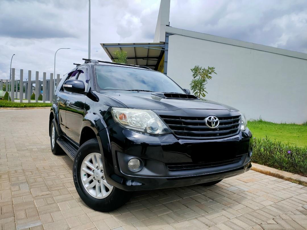 Toyota Fortuner G VNT DSL matic 2013