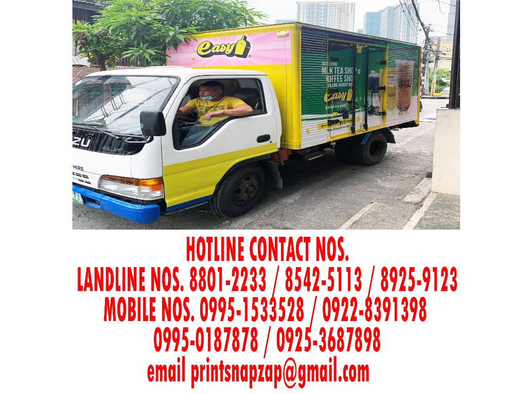 Vehicle Wrap Print Truck Wrap Print and Installation