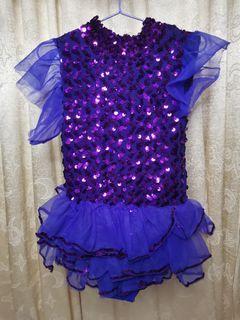 Violet Sequence Ballerina