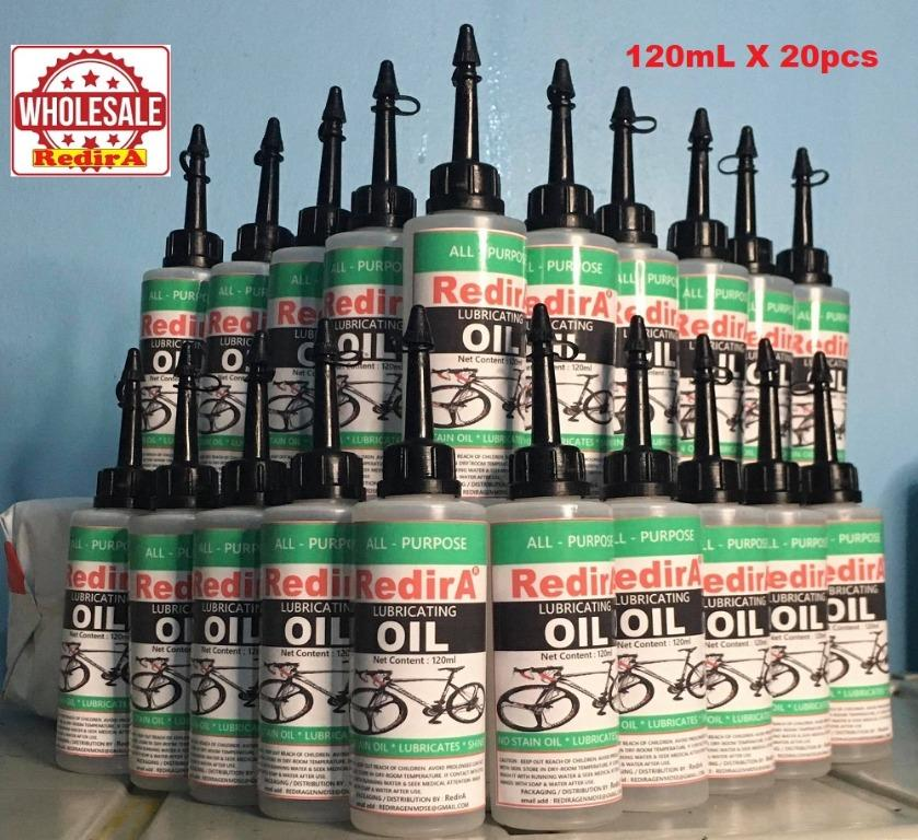 WHOLESALE 120mL REDIRA Bicycle Chain Dry Lube All-Purpose Lubricating Oil