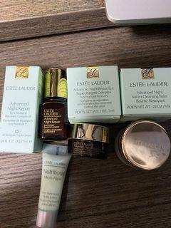 $200Set Estée Lauder Cleansing Balm 7ml ,eye 3ml, Advanced Night Repair 7ml,Pore hydra lotion 5ml