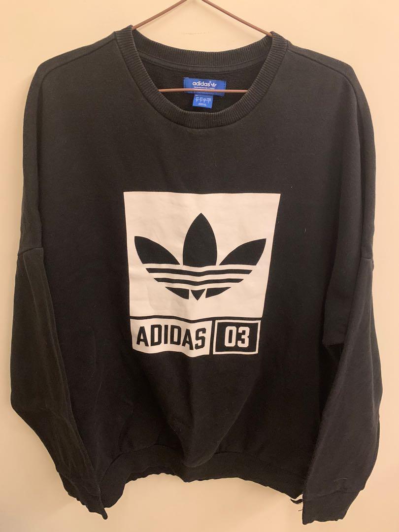 9.5成新 黑色adidas大學tL
