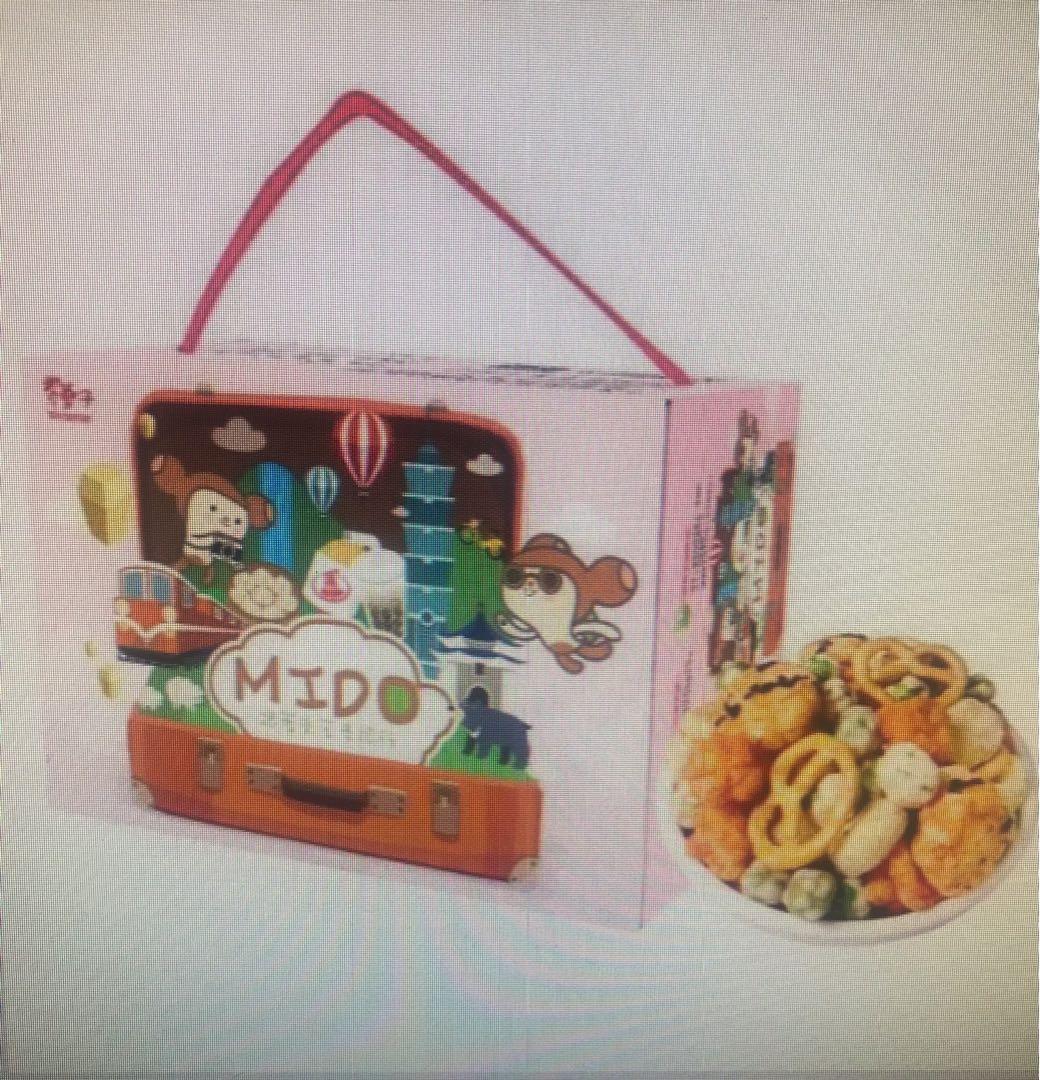 翠菓子_航空米果分享禮盒(12gx20包)