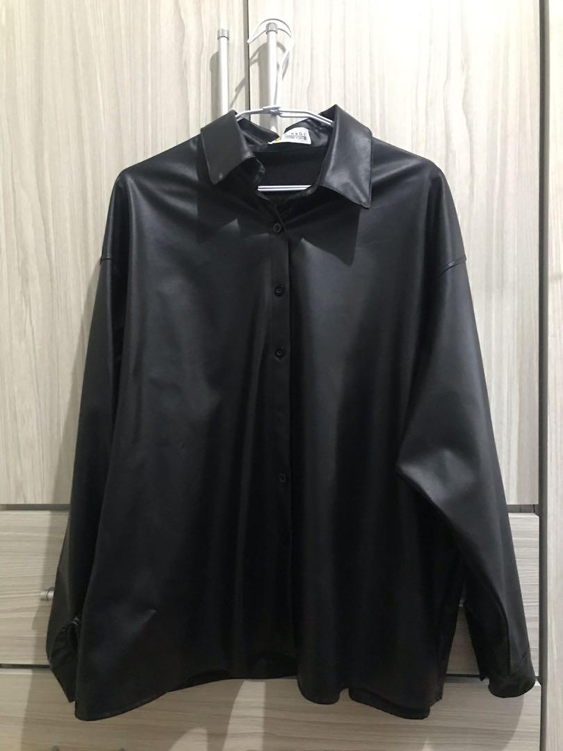 韓版皮外套