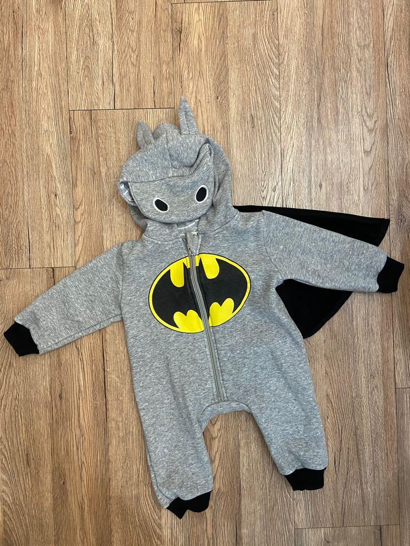 蝙蝠俠刷毛厚連身服