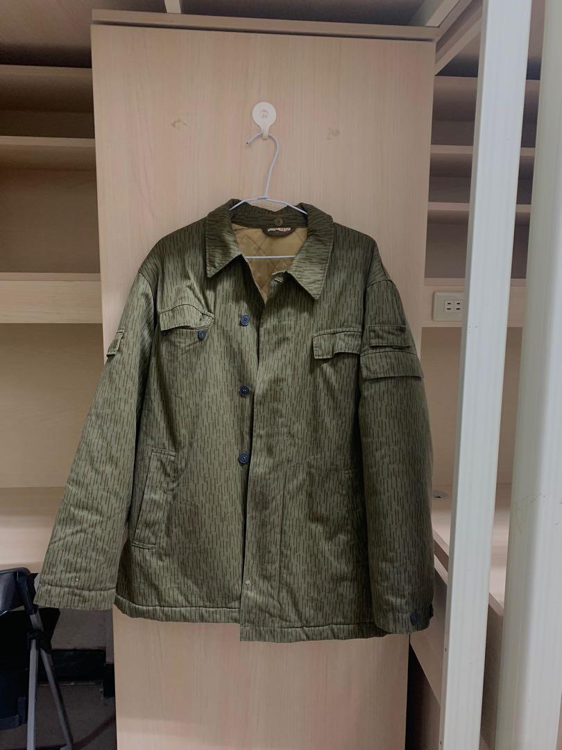 東德軍裝厚外套