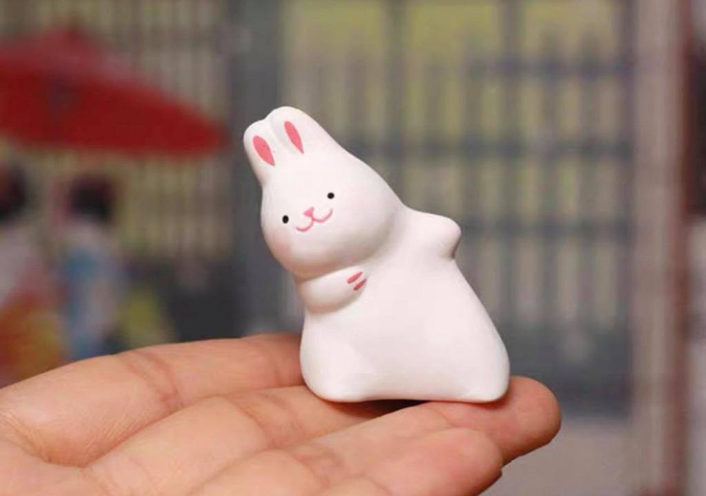 全新 日本進口 歪一邊系列 兔子 限定擺設