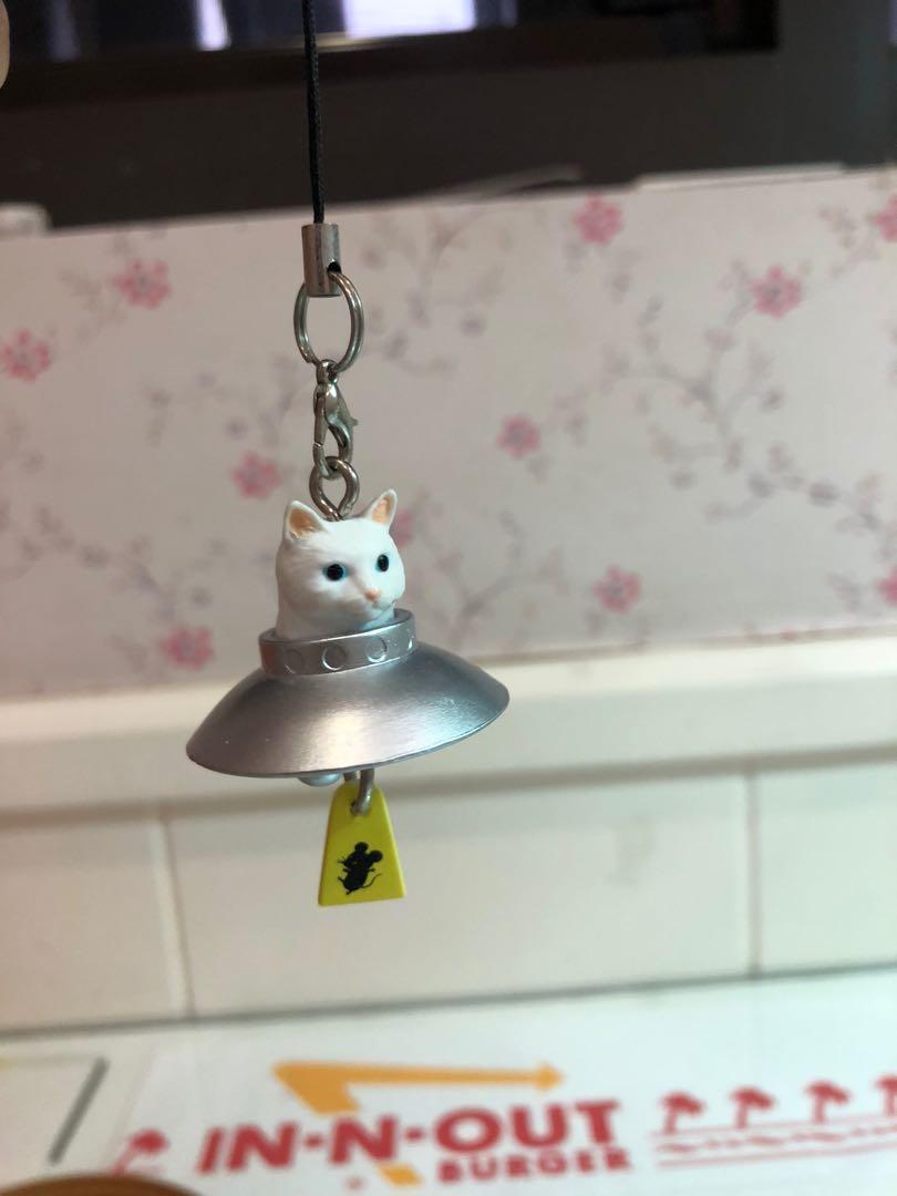 幽浮 白貓 扭蛋 吊飾 掛飾 扭蛋