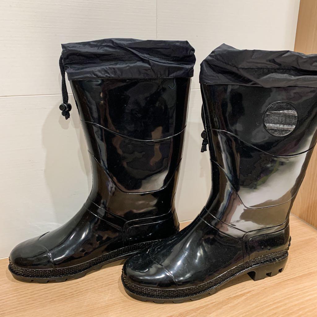 朝日牌雨鞋 雨鞋 安全 鋼頭 防穿刺 園藝 作業鞋 膠鞋 長靴 束口雨鞋 登山雨鞋