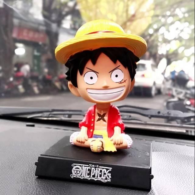 Action Character Figure Bobble Head Dashboard Car Table Display (Avengers / Marvel / One Piece / Pokemon Pikachu  / Harry Potter / NBA)