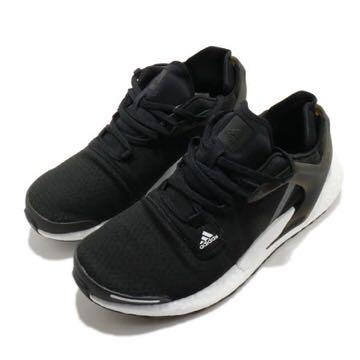adidas 慢跑鞋 Alphatorsion Boost 女鞋 愛迪達 路跑 Boost底 緩震 透氣 黑 白 EG9669