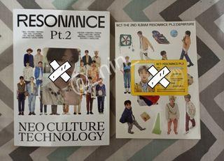 ALBUM NCT RESONANCE PT. 2 - DEPARTURE