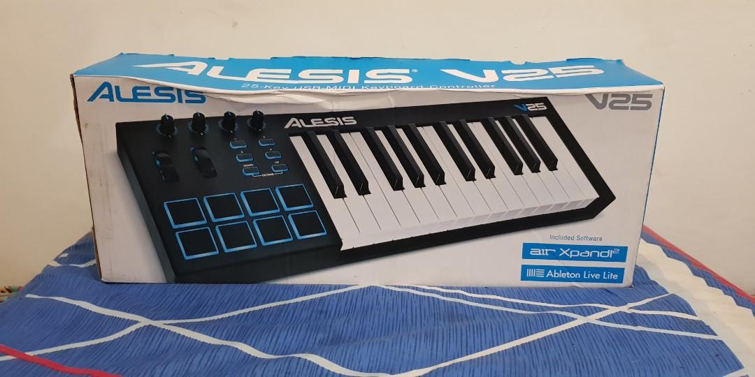 Alesis V25 MIDI controller keyboard