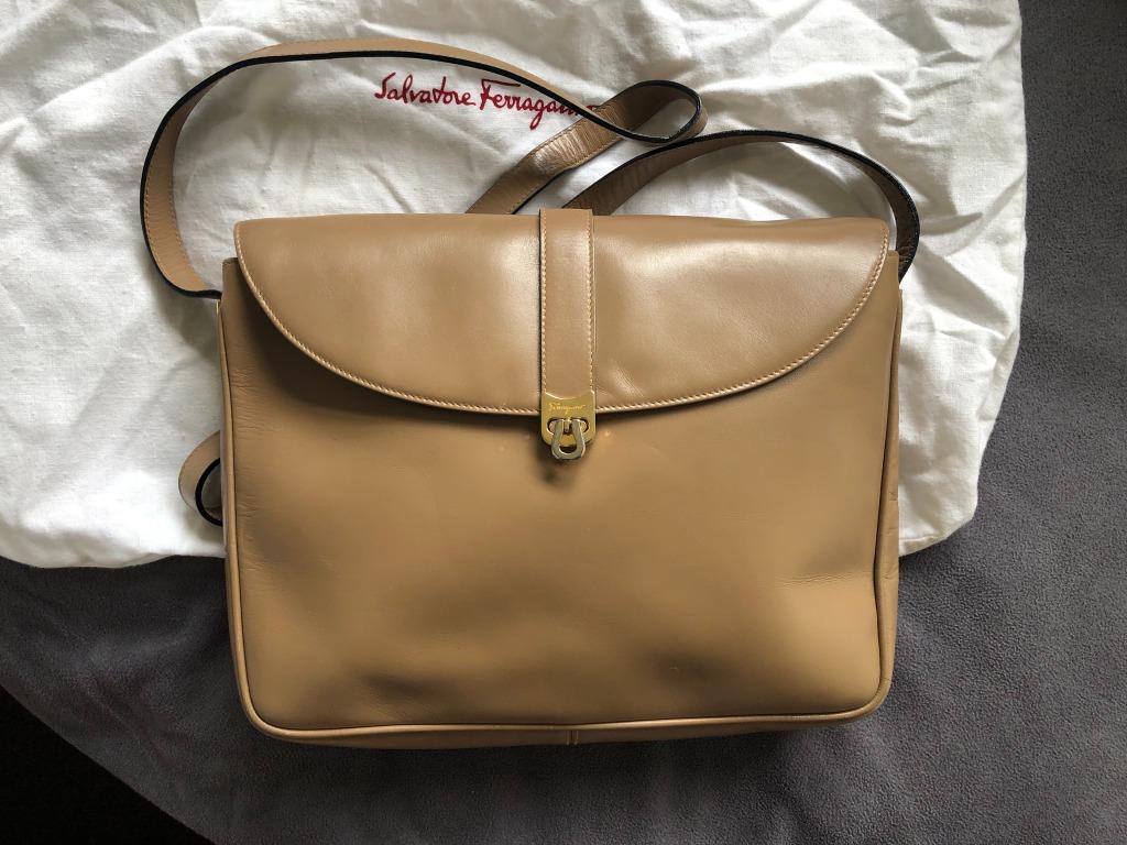 Authentic Vintage Salvatore Ferragamo cross bag