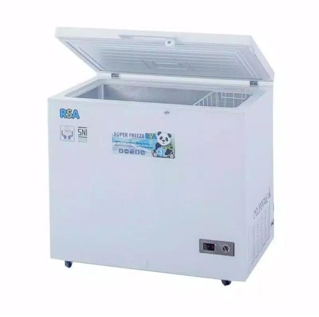 BISA CICILAN FREE ADM *Freezer Box RSA CF-310 310L*