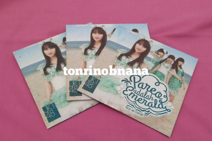 CD JKT48 - Pareo wa Emerald