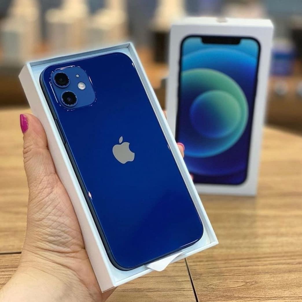 Cicilan Apple Iphone 12 64GB Blue RESMI