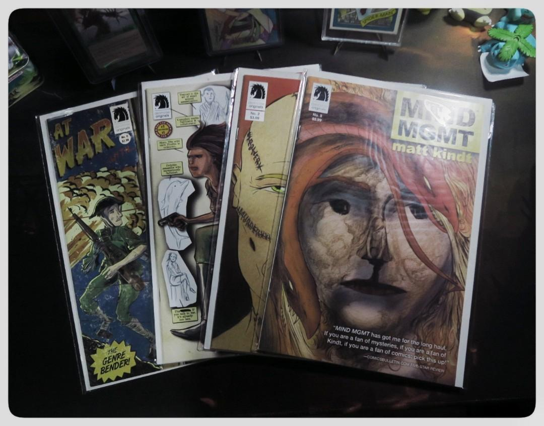 Comic books Mind MGMT by Matt Kindt (LOT for only 500php)