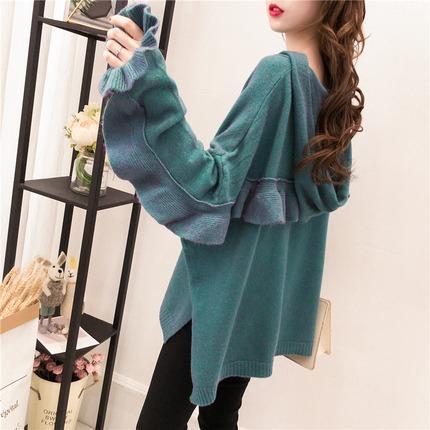 falbala green sweater