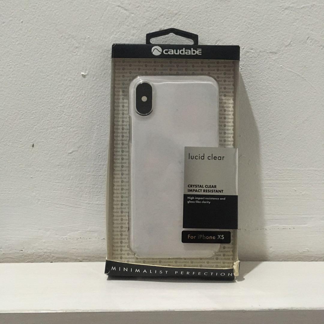 Hard Case Bening - iPhone XS