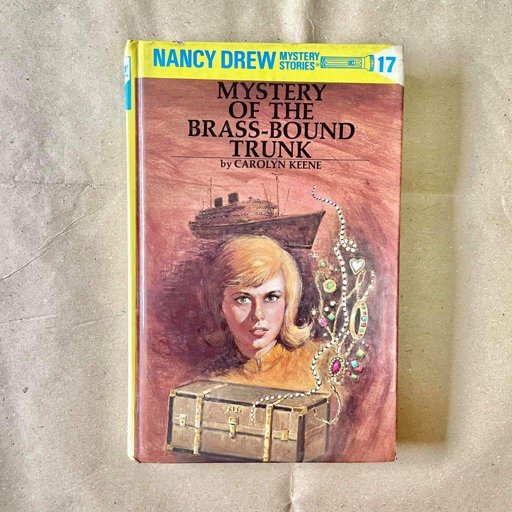 HARDBOUND Nancy Drew Mystery Stories Book #17: Mystery of the Brass-Bound Trunk by Carolyn Keene
