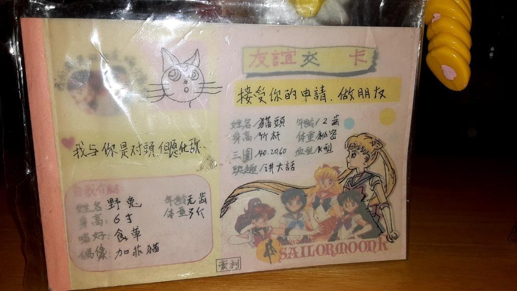 Iconic RARE Sailor Moon memorabilia