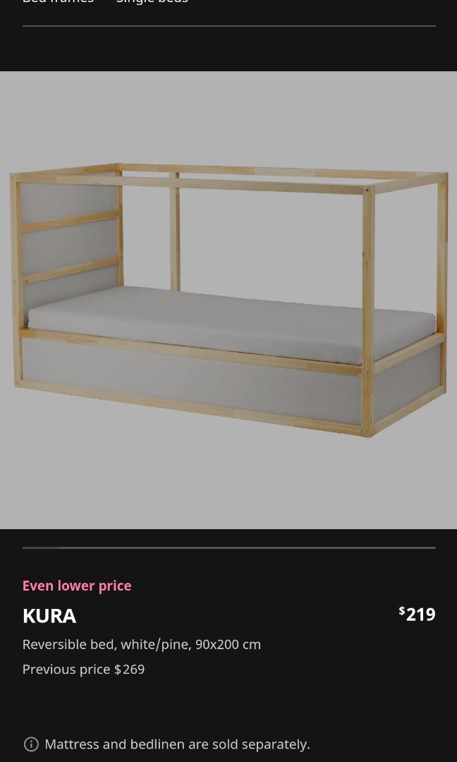 Ikea Kura Furniture Beds Mattresses On Carousell