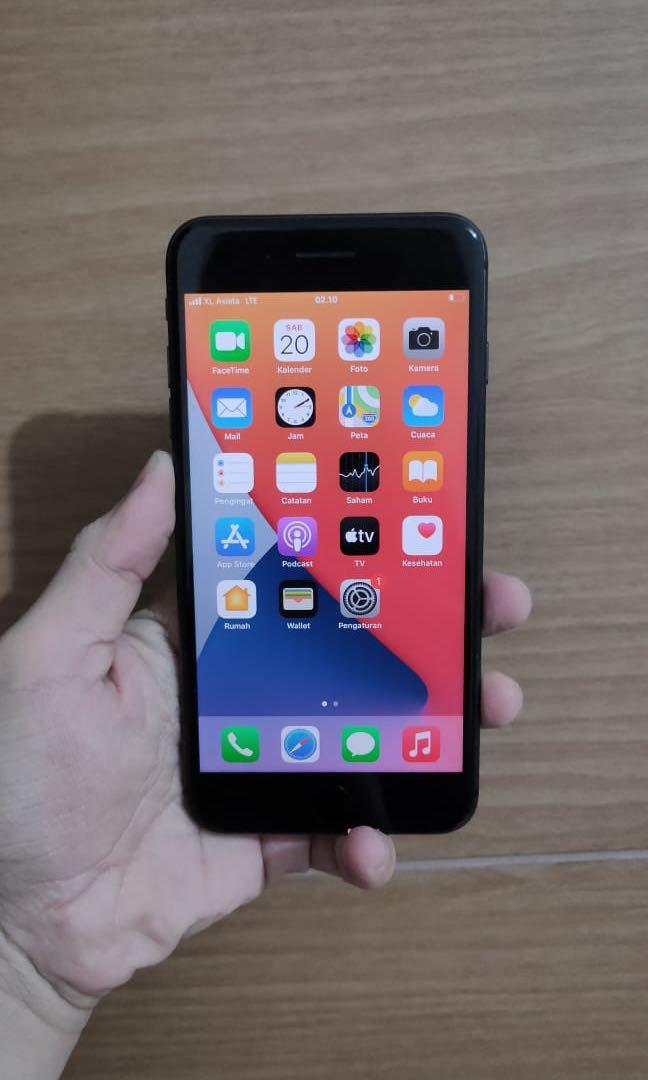 Iphone 8plus 64gb grey mulus