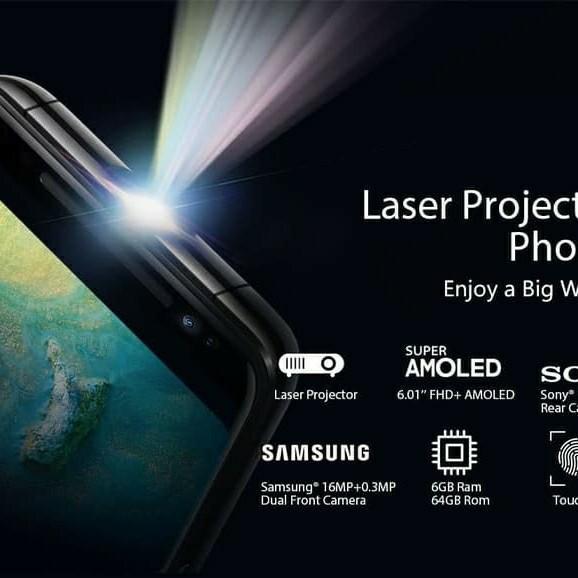 Jual Blackview Max1 Leser Proyektor 6 GB 64gb 4G LTE hitam mulus jual pas bagi yang serius COD MCDONALD'S Jatiwaringin pondok gede Bekasi
