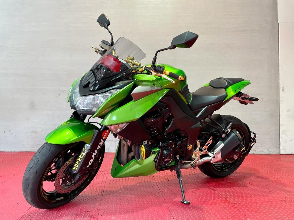 Kawasaki Z1000 3代 公升級街車首選指標