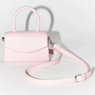Light Pink Mini Crossbody Bag