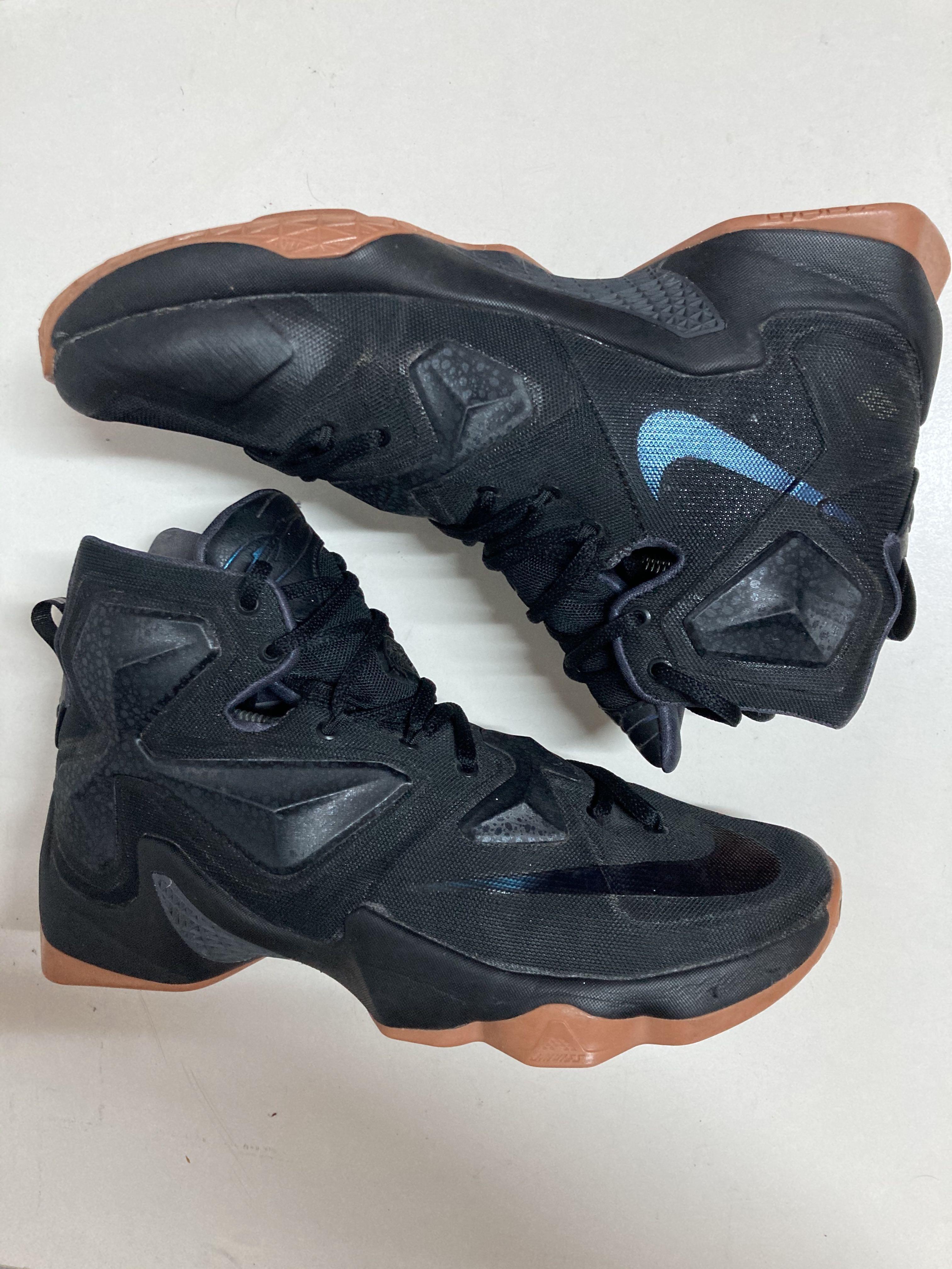 Nike Lebron 13 black lion 黑獅王 LBJ 鋼鐵人 籃球鞋