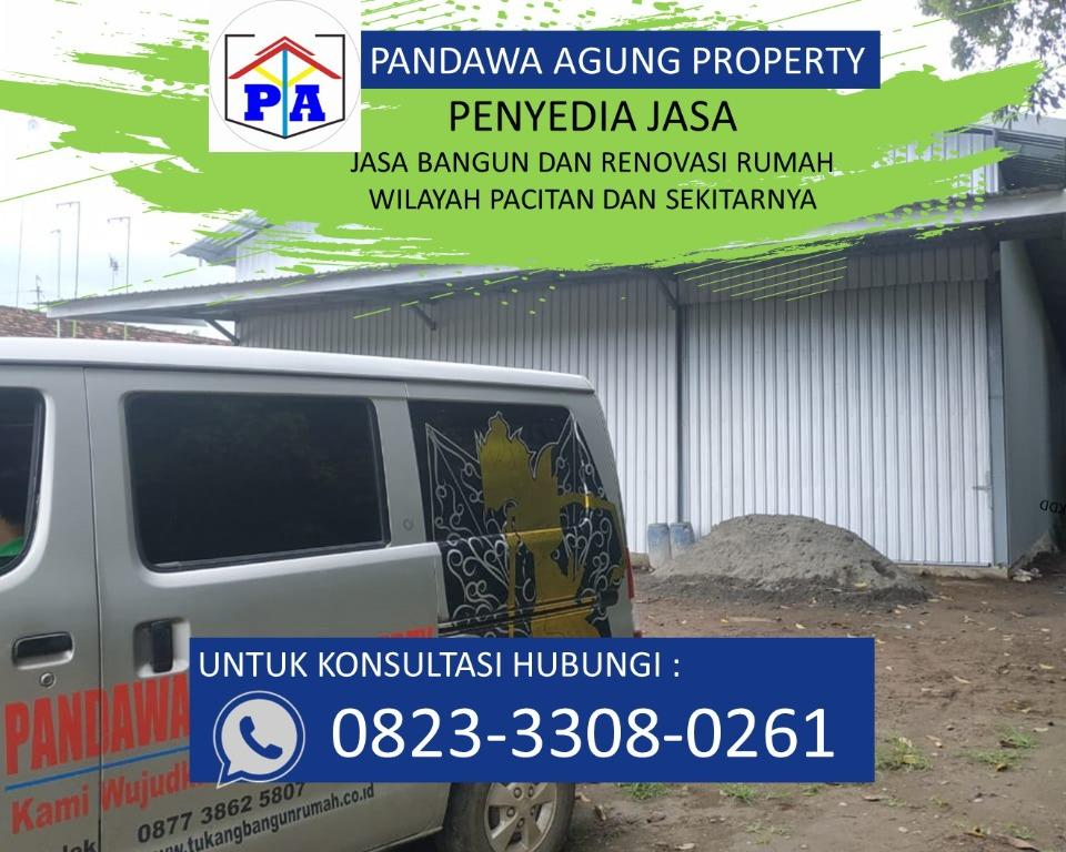 PEMBAYARAN MUDAH | 0823-3308-0261 | Jasa Bangun Toko di Pacitan, PANDAWA AGUNG PROPERTY