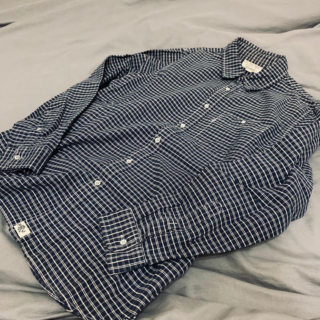 PoloJeans格紋襯衫 保證正品
