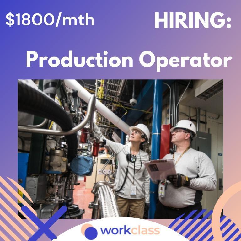 Production Operator