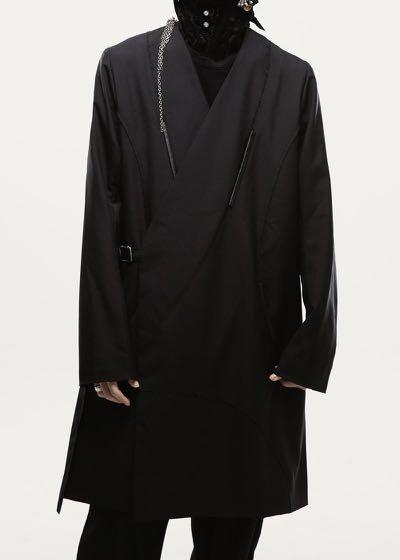 Professor.E 20FW - Collarless Coat
