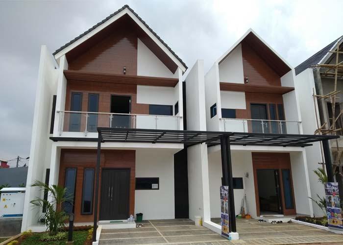 Rumah Cluster mewah 2 lantai di jatiwaringin nyaman dengan lokasi strategis dan bebas banjir.