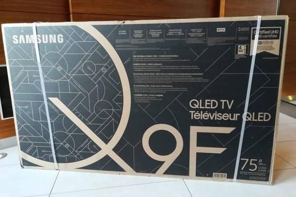 """Samsung Q9F 75"""" QLED 4K Ultra HD TV (2018)"""