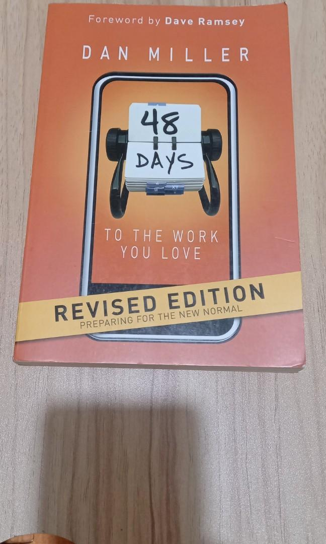 Self help : 48 days to the work you love book