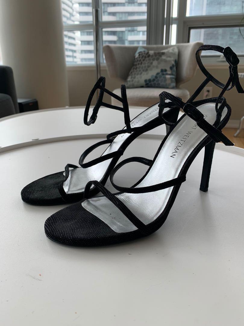 Size 11 Stuart Weitzman nude heels
