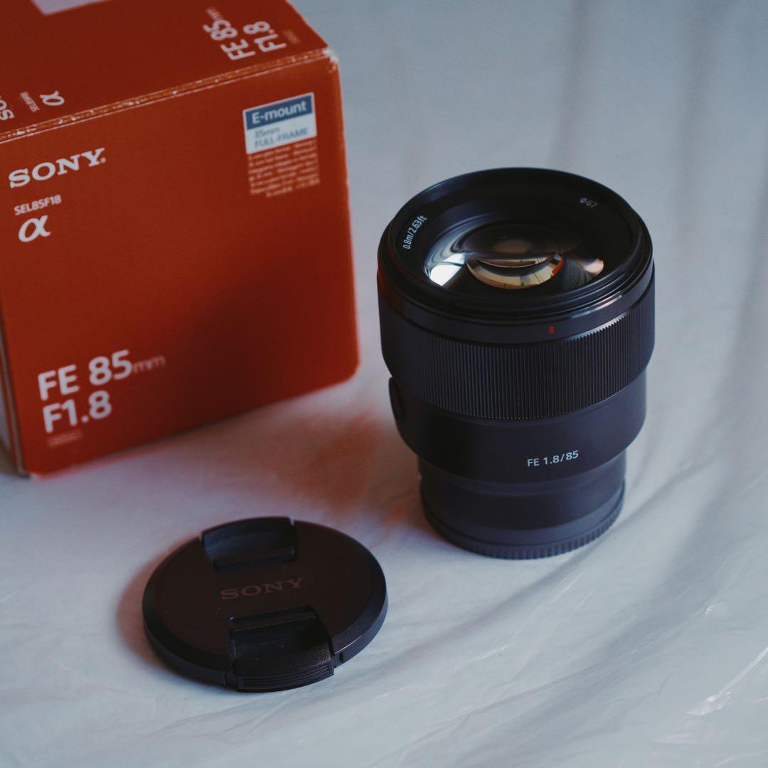 Sony 85mm f1.8