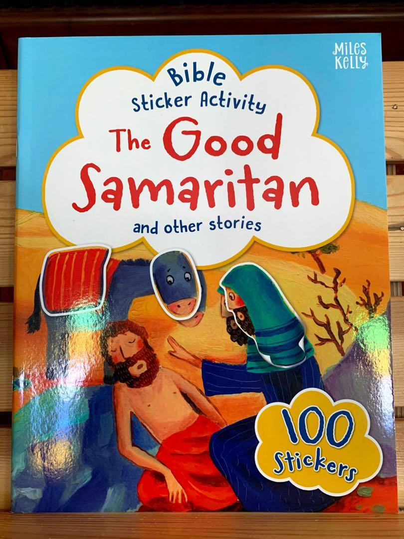 Sticker activity book with stories