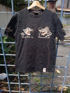 T shirt sukajan dragon & tiger